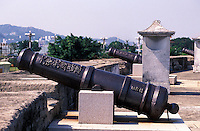 Gun emplacement in this former colonial port concession in Shantou, Guangdong Province, China. .2004