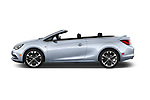 Car Driver side profile view of a 2018 Buick Cascada Premium 2 Door Convertible Side View