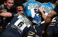 Photo: Richard Lane/Richard Lane Photography. Worcester Warriors v London Wasps. Aviva Premiership. 01/03/2013. Wasps' Jonathan Poff.
