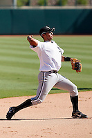 Luis Sierra - Chicago White Sox 2009 Instructional League. .Photo by:  Bill Mitchell/Four Seam Images..