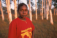 Lexcine Yunkaporta, 'Proud and Deadly', Apalech Clan, Aurukun, Cape York Peninsula.