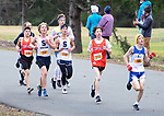 WATERTOWN CT. - 16 November 2020-111620SV03-Runners from the Berkshire League boys meet make their way through the course during the Berkshire League cross country championships in Watertown Monday.<br /> Steven Valenti Republican-American
