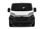 Car photography straight front view of a 2017 Citroen Jumper Combi Confort 4 Door Combi
