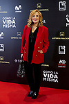 Nieves Herrero attends to 'Como la Vida Misma' film premiere during the 'Madrid Premiere Week' at Callao City Lights cinema in Madrid, Spain. November 12, 2018. (ALTERPHOTOS/A. Perez Meca)