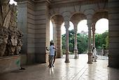 Barcelona, Spain<br /> Catalonia<br /> June 22, 2021<br /> <br /> Life in Parc de la Catalunya.