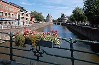Belgien, Flandern, Broel-Türme ( Broels Torens) in Kortrijk