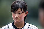 Matsushima Runa of Japan in action during the BFA Women's Baseball Asian Cup match between Japan and Hong Kong at Sai Tso Wan Recreation Ground on September 5, 2017 in Hong Kong. Photo by Marcio Rodrigo Machado / Power Sport Images