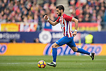Yannick Ferreira Carrasco of Atletico de Madrid runs with the ball during the match Atletico de Madrid vs Valencia CF, a La Liga match at the Estadio Vicente Calderon on 05 March 2017 in Madrid, Spain. Photo by Diego Gonzalez Souto / Power Sport Images