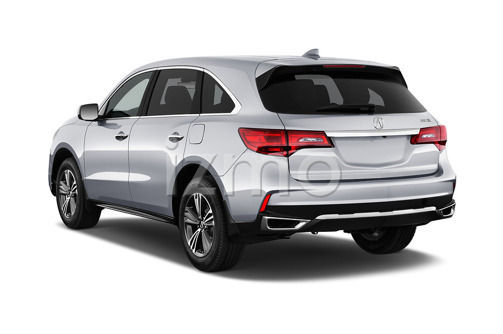 Car pictures of rear three quarter view of a 2020 Acura MDX Standard 5 Door SUV angular rear