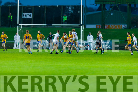 Action from Spa v Laune Rangers in the Intermediate Football Championship Quarter final.