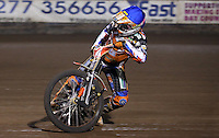 Connor Mountain of Mildenhall Fen Tigers - National League Pairs, The Rico Spring Classic at the Arena Essex Raceway, Pufleet - 20/03/15 - MANDATORY CREDIT: Rob Newell/TGSPHOTO - Self billing applies where appropriate - 0845 094 6026 - contact@tgsphoto.co.uk - NO UNPAID USE
