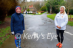 Enjoying a stroll in the Killarney National park on Friday, l to r: Katie Fox and Catriona White.