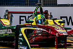 Lucas di Grassi of ABT Schaeffler Audi Sport during the first race of the FIA Formula E Championship 2016-17 season HKT Hong Kong ePrix at the Central Harbourfront Circuit on 9 October 2016, in Hong Kong, China. Photo by Victor Fraile / Power Sport Images
