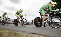 Peter Sagan (SVK/Cannondale) pacing the way for the team<br /> <br /> stage 9: TTT Vannes - Plumelec (28km)<br /> 2015 Tour de France