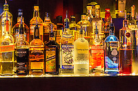 Las Vegas, Nevada.  Hotel Bar Liquor Supply, The Cromwell Hotel.