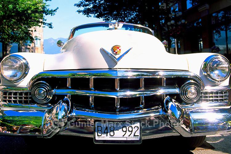 An Antique Cadillac Car