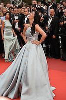 """FRA: """"THE BFG"""" Red Carpet- The 69th Annual Cannes Film Festival -Mallika Sherawat, attend """"THE BFG"""". Red Carpet during The 69th Annual Cannes Film Festival on May 14, 2016 in Cannes, France."""