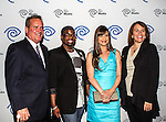 John McKay, Anthony Williams, Kellie Martin and Carole Hart at the Time Warner Media Cabletime Upfront media event held at the Private Social Restaurant  in Dallas, Texas.