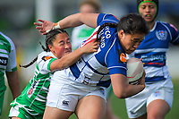 Action from the Farah Palmer Cup women's rugby match between Manawatu Cyclones and Auckland Storm at CET Stadium in Palmerston North, New Zealand on Sunday, 29 September 2019. Photo: Dave Lintott / lintottphoto.co.nz