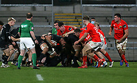 12 December 2020; Cormac Izuchukwu during the A series inter-pros series 20-21 between Ulster A and Munster A at Kingspan Stadium, Ravenhill Park, Belfast, Northern Ireland. Photo by John Dickson/Sportsfile