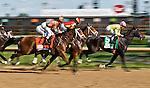 MAY 1, 2015: Lovely Maria (7), ridden by jockey Kerwin Clark, wins the Kentucky Oaks for owner Brereton Jones and trainer Larry Jones at Churchill Downs in Louisville, Kentucky.Scott Serio/ESW/CSM
