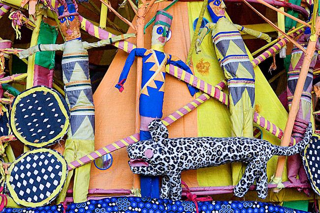 Jiko Restaurant, African Folk Art, Animal Kingdom Lodge, Disney's Animal Kingdom, Orlando, Florida