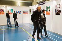 15-12-12, Rotterdam, Tennis Masters 2012, KNLTB Plaza, Fotoexpositie
