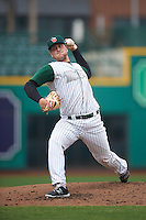 Fort Wayne TinCaps relief pitcher Will Headean (6) delivers a pitch during the second game of a doubleheader against the Great Lakes Loons on May 11, 2016 at Parkview Field in Fort Wayne, Indiana.  Great Lakes defeated Fort Wayne 5-0.  (Mike Janes/Four Seam Images)