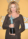 Jessica Lange attends the 18th Annual Screen Actors Guild Awards held at The Shrine Auditorium in Los Angeles, California on January 29,2012                                                                               © 2012 Hollywood Press Agency