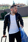 Spain's Jordi Alba arrives to the national football team stage. March 20,2017.(ALTERPHOTOS/Acero)