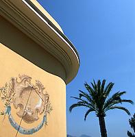 "France/06/Alpes-Maritimes/St Jean Cap Ferrat: Hotel ""Brise Marine"" - Cadran solaire"
