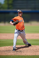 Houston Astros pitcher Buddy Boshers (54) during a Minor League Spring Training Intrasquad game on March 28, 2018 at FITTEAM Ballpark of the Palm Beaches in West Palm Beach, Florida.  (Mike Janes/Four Seam Images)