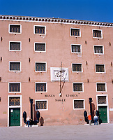 The Museo Navale Storico—Naval Historical Museum. Since 1600, the Venice Naval Historical Museum has been dedicated to the splendour of the Venetian naval tradition. The museum is hosted in an 11th century palace in Campo San Biagio (Arsenale).