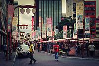 Praca da Liberdade in Sao Paulo, Brazil