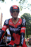 Marcus Burghardt (GER) BMC Racing Team waits to start the Prologue of the 99th edition of the Tour de France 2012, a 6.4km individual time trial starting in Parc d'Avroy, Liege, Belgium. 30th June 2012.<br /> (Photo by Eoin Clarke/NEWSFILE)