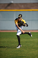Bryce Matthews (14) of Chaparral High School in Parker, Colorado during the Baseball Factory All-America Pre-Season Tournament, powered by Under Armour, on January 14, 2018 at Sloan Park Complex in Mesa, Arizona.  (Zachary Lucy/Four Seam Images)