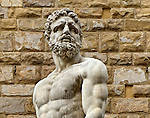 from the statue of Hercules and Cacus at the entrance of Palazzo Vecchio in the Piazza della Signoria