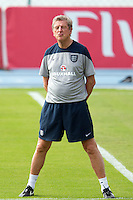 England manager Roy Hodgson pulls a funny face