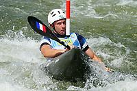 4th September 2021; Parc Olimpic del Segre, La Seu D'Urgell ICF Slalom World Cup, men's Kayak Final;  Boris Neveu (FRA)