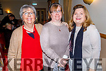 Bernie Daly, Louise O'Connor and Dolores Johnson enjoying the Lay Dominicans Christmas Party in Kerins O'Rahillys on Sunday.