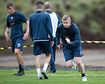 St Johnstone Training…07.09.17<br />Brian Easton pictured during training at McDiarmid Park ahead of the home game against Hibs<br />Picture by Graeme Hart.<br />Copyright Perthshire Picture Agency<br />Tel: 01738 623350  Mobile: 07990 594431