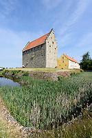 Burg Glimmingehus bei Simrishamn (erb. 1500), Provinz Skåne (Schonen), Schweden, Europa<br /> Castle Glimmingehus (1.500) near Simrisham, province Skåne, Sweden