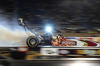 Jul, 8, 2011; Joliet, IL, USA: NHRA top fuel dragster driver Rod Fuller during qualifying for the Route 66 Nationals at Route 66 Raceway. Mandatory Credit: Mark J. Rebilas-