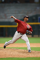 Arizona Diamondbacks pitcher Luis Ramirez (37) during an instructional league game against the San Francisco Giants on October 16, 2015 at the Chase Field in Phoenix, Arizona.  (Mike Janes/Four Seam Images)