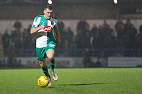 Luke Jephcott (Plymouth Argyle) during the Sky Bet League 1 match between Rochdale and Plymouth Argyle at Spotland Stadium, Rochdale, England on 15 December 2018. Photo by James  Gill / PRiME Media Images.