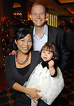 Stewart Glenn with his wife Kaycee and daughter Claire at the Houston Symphony League's annual Magical Musical Morning event at the Houstonian Saturday Dec. 12,2009.(Dave Rossman/For the Chronicle)