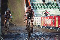 Laura Verdonschot (BEL/Pauwels Sauzen-Bingoal)<br /> <br /> CX Belgian Nationals 2021<br /> <br /> Women's Elite Race<br /> Belgian National CX Championships<br /> Meulebeke 2021