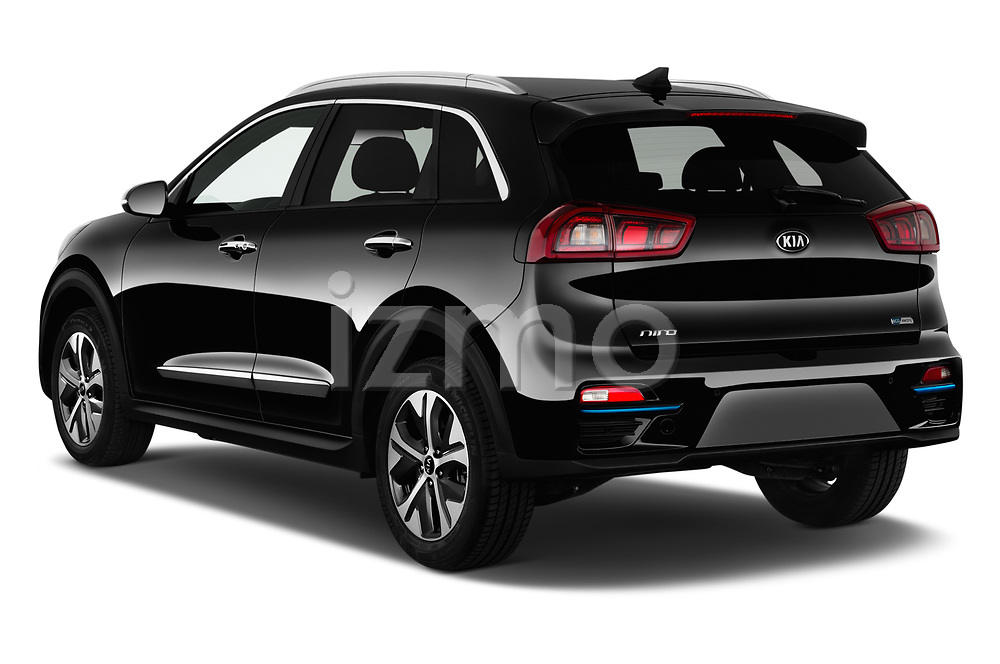 Car pictures of rear three quarter view of 2019 KIA e-Niro More 5 Door SUV Angular Rear