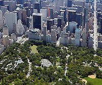 aerial photograph Central Park, Manhattan, New York City