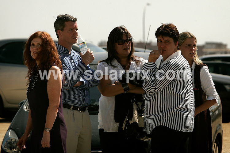 **ALL ROUND PICTURES FROM SOLARPIX.COM**.**WORLDWIDE SYNDICATION RIGHTS**.the seventh day of the Michael McArdle trial in Malaga, southern Spain, October 6, 2008. McArdle is on trial for the murder of his former girlfriend Kelly-Anne Corcoran who died after falling from a hotel in Marbella over eight years ago. ..This pic: Kelly-Anne Corcoran's Sisters..JOB REF: 7524 NNA       DATE: 06_10_2008.**MUST CREDIT SOLARPIX.COM OR DOUBLE FEE WILL BE CHARGED* *UNDER NO CIRCUMSTANCES IS THIS IMAGE TO BE REPRODUCED FOR ANY ONLINE EDITION WITHOUT PRIOR PERMISSION*